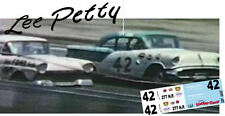 CD_1653 #42 Lee Petty  Newton & Chappell 57 Olds   1:64 scale decals ~OVERSTOCK~