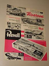RIVAROSSI TRENI ELETTRICI=ANNI '50=PUBBLICITA=ADVERTISING=WERBUNG=527