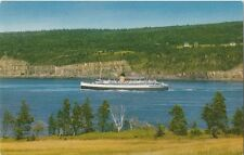 Postcard New Brunswick Nova Scotia CPR Ferry Princess Helene 1958