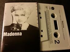 Madonna Original 1983 US Cassette (No Barcode) Lucky Star, Borderline
