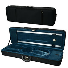 New Nylon Professional Square Enhanced 4/4 Acoustic Square Violin Fiddle Case