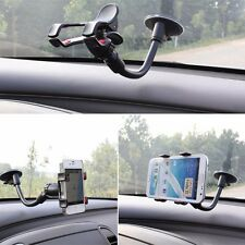 "10"" AUTO CAR ACCESSORIES 360° Rotating Phone Windshield Mount GPS Holder Stand"
