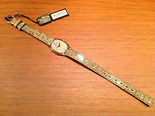 Nuevo - Vintage Reloj Watch Montre SEIKO Quartz 22 x 19 mm Steel  - New expo