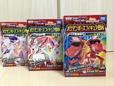 TAKARA TOMY Pokemon Pose Figure BW Sylveon Mewtwo Genesect JAPAN limited edition