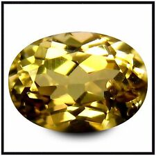 1.46 KARAT, IGEC CERTIFIED NATURAL UNHEATED YELLOW TANZANITE, OVAL SHAPE