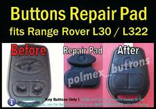 fits Range Rover Discovery 3 Remote Key - Silicone Button Repair key Pad