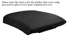 BLACK STITCHING FITS NISSAN PATHFINDER 2007-2013 LEATHER ARMREST COVER ONLY