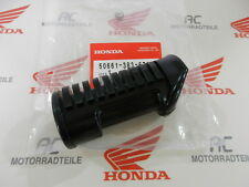 HONDA CB 125 S RUBBER FOOTPEG PEDALE FRONT GENUINE NEW 50661-383-670