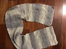Unique And Eye-Catching Hand Crocheted Scarf