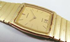 Lassale by Seiko Gold Tone Stainless Steel 7759-5070 Sample Watch NON-WORKING