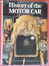 1970 History Of The Motor Car (707 Illustrations 485 In Full Color)  Made In USA