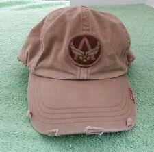A. Kurtz Military Hat Used Distressed Trucker Baseball Cap