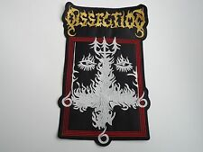DISSECTION THE PAST IS ALIVE EMBROIDERED BACK PATCH