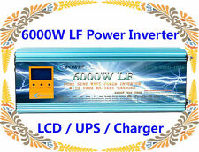 24000W/6000W LF Pure Sine Wave 24VDC/110V AC 60Hz Power Inverter LCD/UPS/Charger