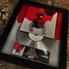 Rihanna ANTI Platinum Record Disc Album Music Award MTV Grammy RIAA