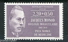 FRANCE, 1987, timbre 2459, JACQUES MONOD, neuf**