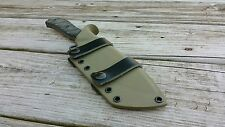 "TOPS SILENT HERO Custom kydex sheath ""Scout Carry"""