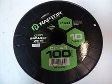 Raptor 10 AWG Oxygen free Copper Speaker Wire - 100 Feet