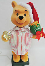 "22"" Disney Animated Winnie The Pooh Night Shirt Motionette Lights Xmas Display"