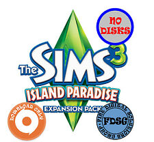 The Sims 3 Island Paradise (PC&Mac, 2013) Origin Download Region Free