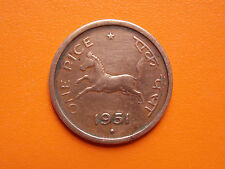 One Pice 1951 Government of India Bombay Mint Original Coin