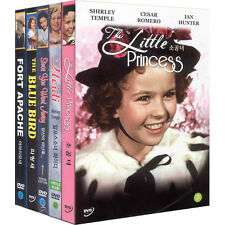 Shirley Temple Collection(5DVD)The Little Princess,Heidi,The Blue Bird,Fort Apac