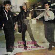 CURE  -  LIVE IN MILAN AT THE ROLLING STONE 21/5/1984 - 2 LP - RARE