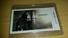 2am jinwoon japan jp official photocard Kpop k-pop shipped in toploader