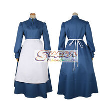 Howl's Moving Castle Sophie Hatter Uniform COS Clothing Cosplay Costume