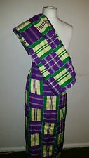 African Ghana kente cloth original 2 piece (equivelent of 4 yard or meters