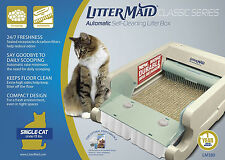NEW Littermaid LM680C Classic Self-Cleaning Litter Box Automatic Cat Litterbox