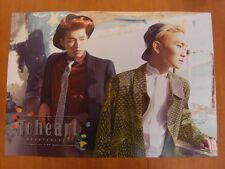 TOHEART - INFINITE Woohyun & SHINee Key (Ver. A) [OFFICIAL] POSTER *NEW* K-POP
