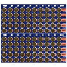 100 NEW SONY CR2025 3V Lithium Coin Battery Expire 2026 FRESHLY NEW - USA Seller