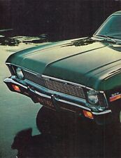 Chevrolet Nova 1970 USA Market Leaflet Sales Brochure Sedan Coupe SS
