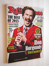 ROLLING STONE RON BURGUNDY UNCENSORED DECEMBER 19 2013 - JAN 2 2014