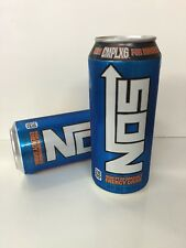 Nos Energy Drink. High Performance Enhanced Drink.2(TWO) Cans Lot CMPLX6