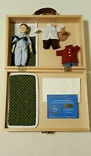 Robert Raikes JOEY Hitty Friend Doll in Wooden Case w 3 Outfits! Only 100 Made!