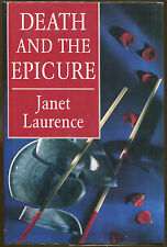 Death and the Epicure by Janet Laurence-Publisher Review Copy-1993