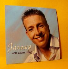 Cardsleeve single CD Jannes Een Zomerdag 2 TR 2003 Dutch Pop Schlager