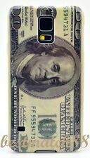 for Samsung galaxy i9600 S5 100 dollars bill cool hard back green case skin