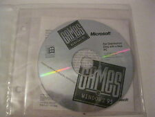 Games for Windows 95 Doom Fury 3 Havoc and more new sealed CD-ROM Microsoft
