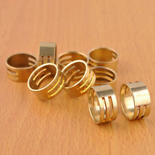 Raw Brass Jump Ring Jumpring Open Close Tool For Jewellery Making DIY 19x8mm