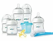 Philips Avent BABY BOTTLES, BPA Free Natural Infant Starter Gift BOTTLE SET