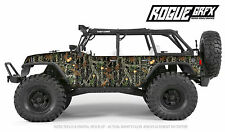 Axial SCX10 Rubicon or CRC Edition Body Graphic Wrap Skin- Mossy Camo
