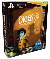 WONDERBOOK DIGGS L'INVESTIGATARLO + LIBRO PS3