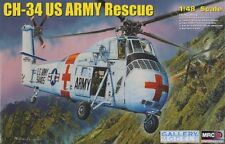 Sikorsky CH-34 US Army Rescue Helicopter Plastic Kit 1:48 Model 64103 TRUMPETER