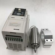 Natural Cooled 95W Spindle Motor 36V Kit 60000rpm High Speed Motor + VFD&Bracket