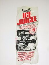 VINTAGE 1980'S GUIDO'S ITALIAN ICE JUICEE TREAT SUPERMARKET AD WINDOW CLING