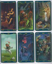 Tarot der keltischen Feen, Celtic Fairies, 78 Tarotkarten & Booklet mehrsprachig