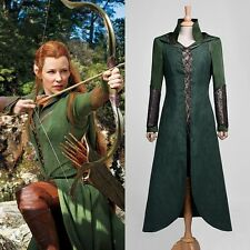 The Hobbit Desolation of Smaug Tauriel Cosplay Costume Full Set